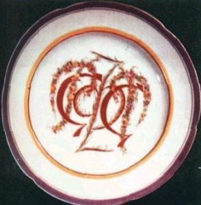 тарелка, 20-е годы